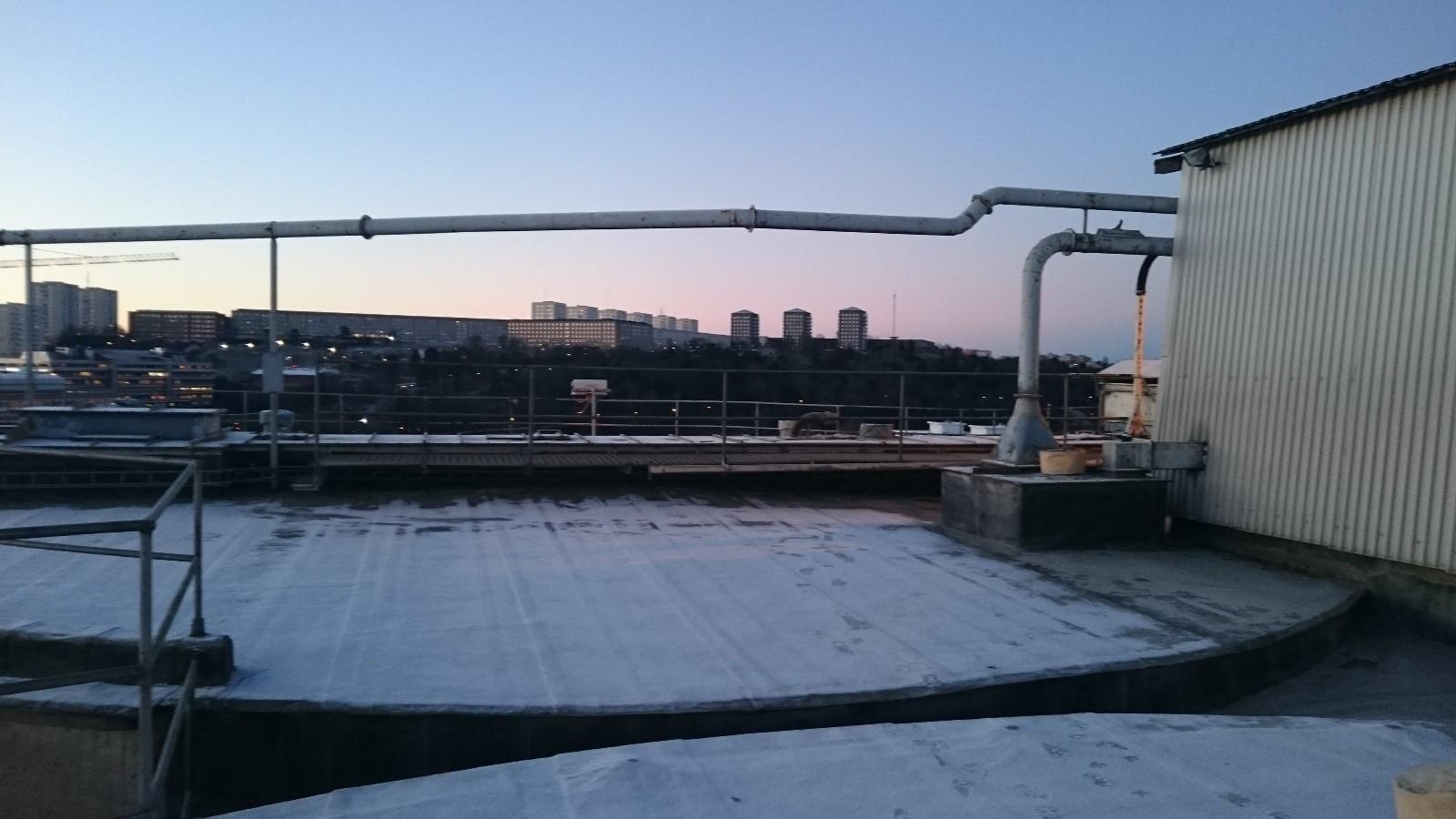 Utsikt mot Liljeholmen.