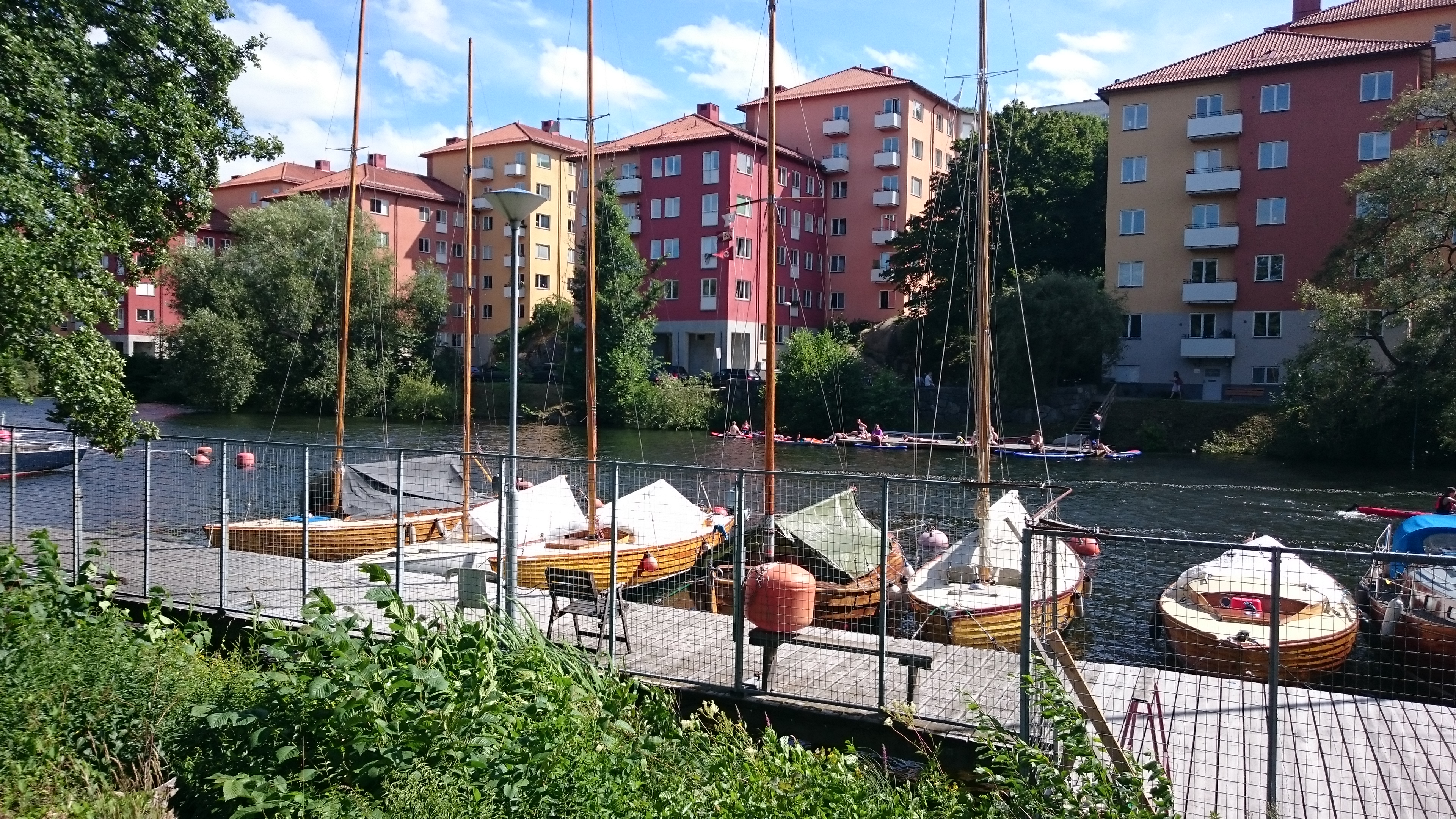 Utsikt mot Reimersholme