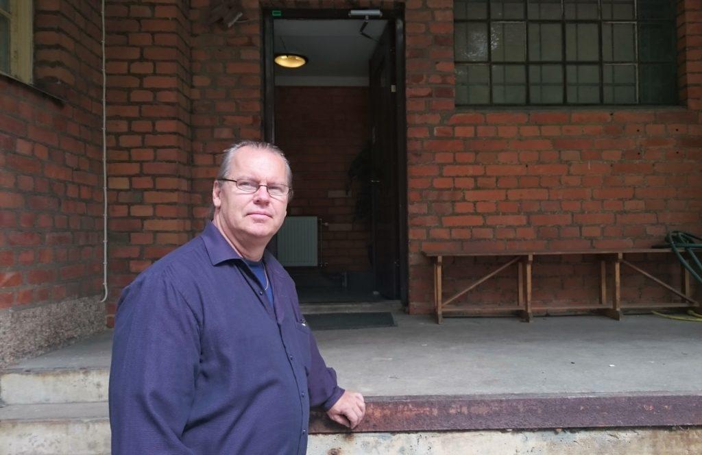 - Den här miljön är populär för filminspelningar, berättar Göran Sundin, projektledare på Huurre.